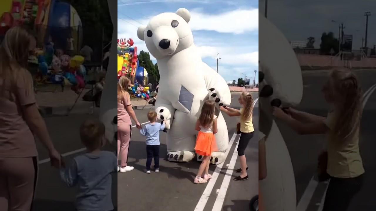 Ростовая кукла Медведь гигант