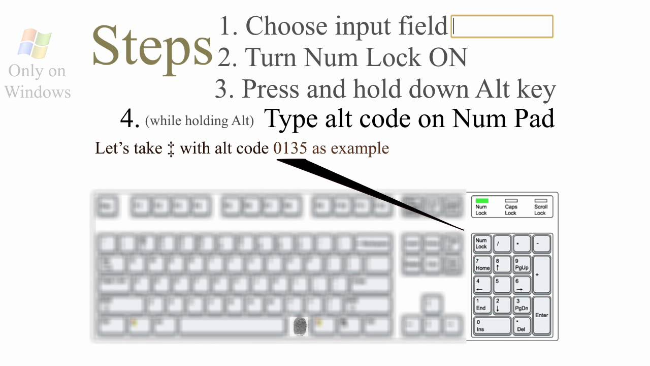 How Alt Codes Keyboard Symbols Youtube