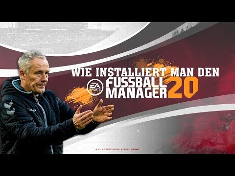 EA Fussball Manager 20 Installationstutorial