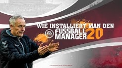 EA Fussball Manager 20 Installationstutorial