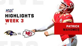 Patrick Mahomes' 374 YDs & 3-TD Day!   NFL 2019 Highlights