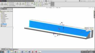 Using SOLIDWORKS to Create a Bumper