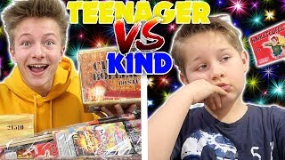Teenager vs Kind - Silvester 🍾🎉