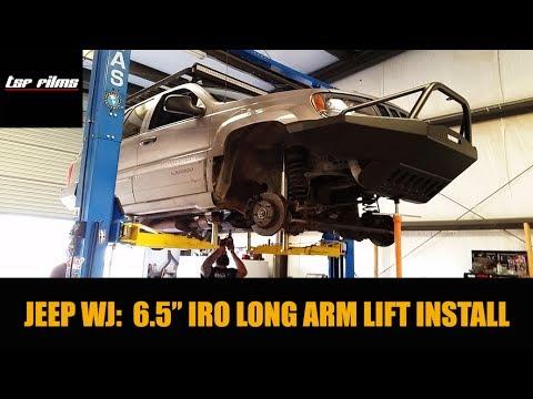 "1999 JEEP WJ: IRO 6.5"" Premium Critical Path Lift Kit Install"