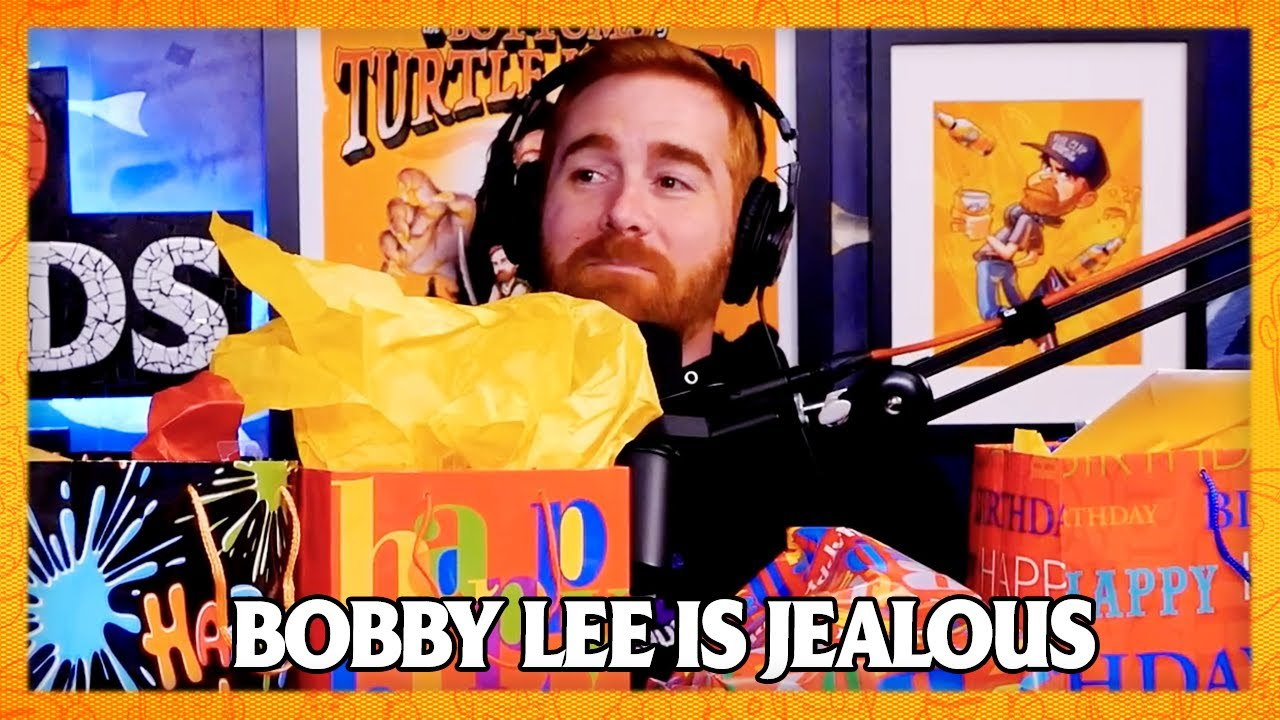 Bobby Lee Losses It Over Andrew Santino's Birthday Gifts | Bad Friends Clips