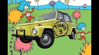 1973 Volkswagen Thing The VW Type 181