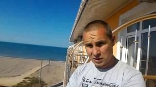 Крым заезжаем в отель *созвездия* в Пребрежном