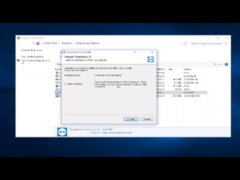 How To Uninstall Teamviewer From Windows 10/8/7 [Tutorial]