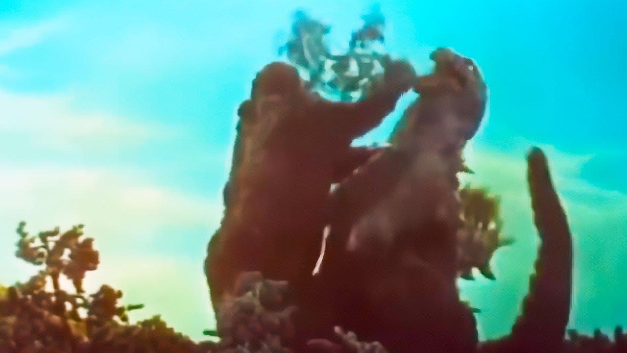 Ozzy Man Reviews: Godzilla vs Kong Retro Fight!
