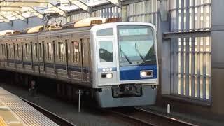 西武6000系6108F「Fライナー」富士見台駅高速通過