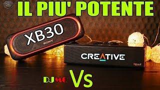 🎬REVIEW►IL PIU' POTENTE SPEAKER PORTATILE/Sony Vs Creative (Recensione ITA)