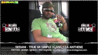 Serani - True Mi Simple (Gangsta Anthem) Large Up Riddim - May 2013