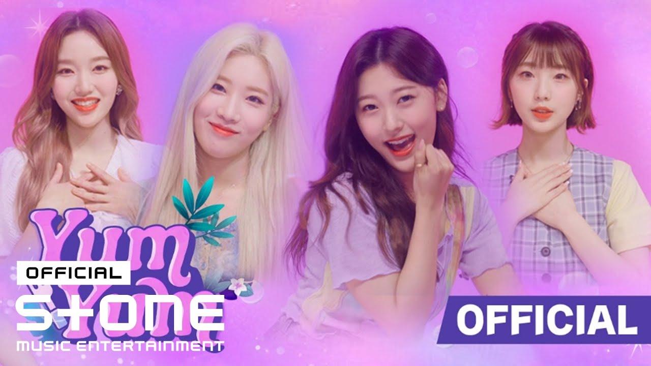 코코몽 X 이달의 소녀(여진, 김립, 최리, 고원) - 얌얌(Yum-Yum) MV