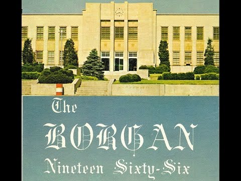 1966 Borger High School yearbook: The Borgan