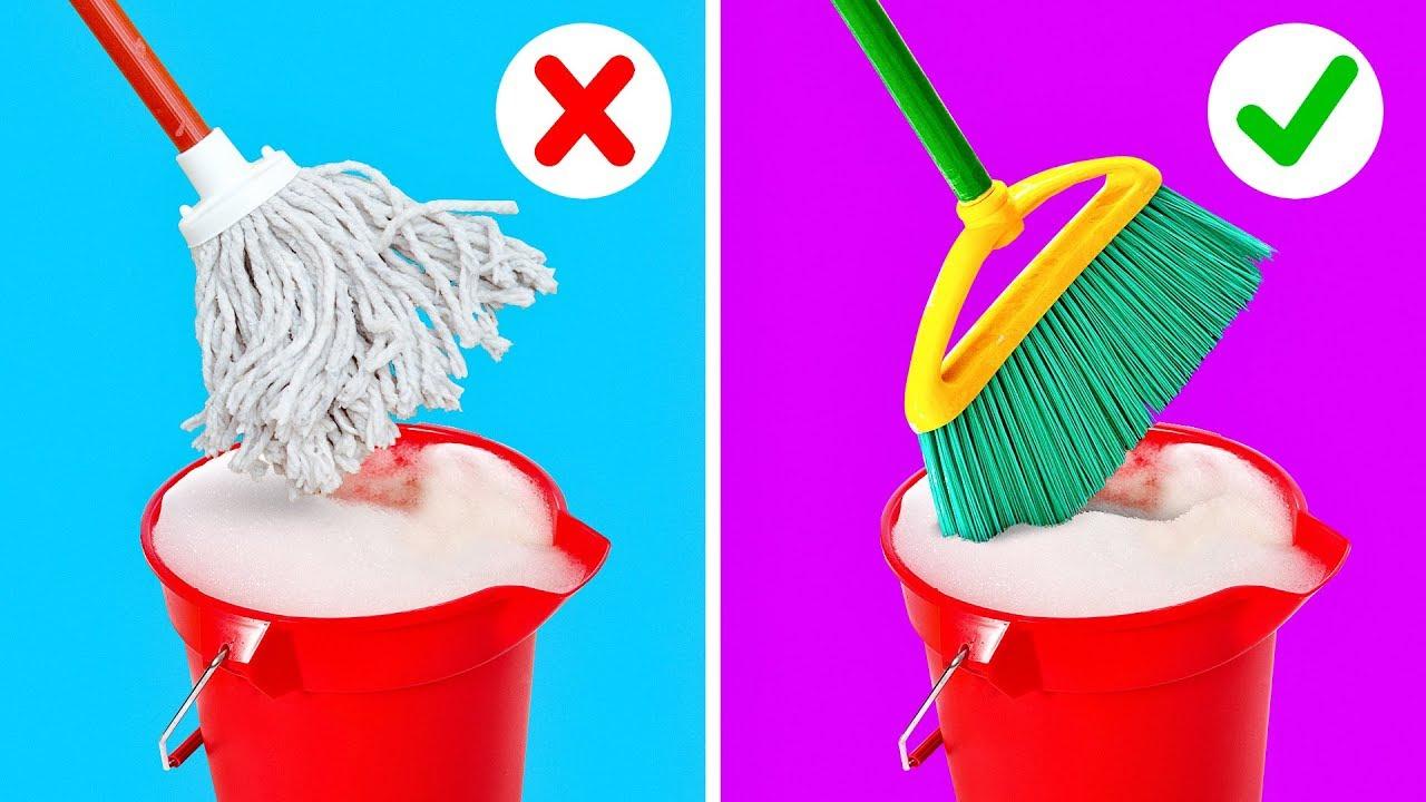Трикови за чистење со кои ќе ја усовршите рутината и ќе го забрзате процесот