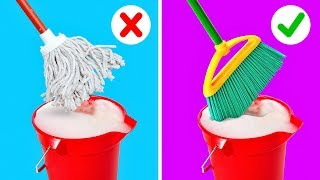 25 CLEANING HACKS TΟ SPEED UP YOUR ROUTINE
