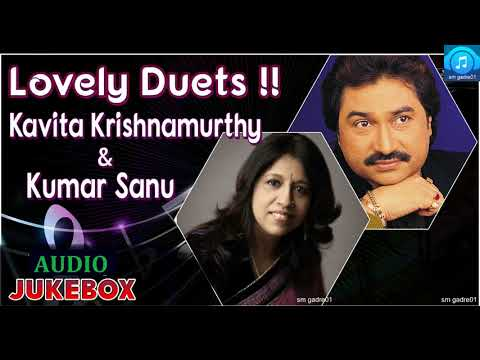 Superhit of Kavita krishnamurthy &Kumar Sanu Bollywood Hindi Jukebox Songs