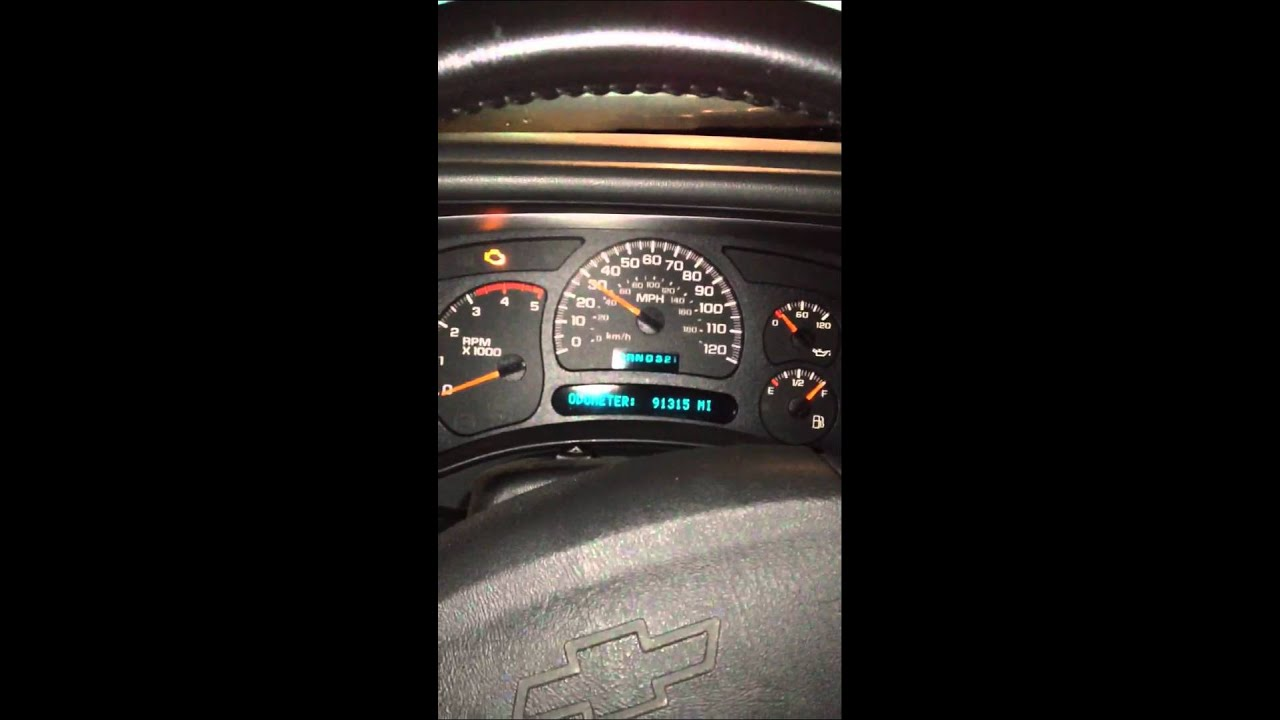 Duramax Diesel Fuel Filter Reset Message Youtube 2007 Chevy Silverado 1500 Location
