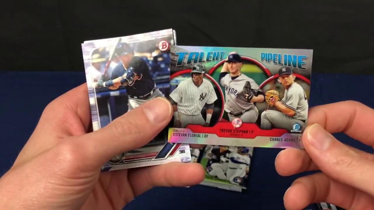 2019 Bowman Baseball Retail Target Box Break