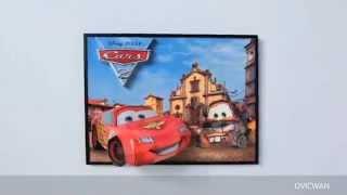 Rompecabezas 3D Cars 2 Disney Mega Puzzles Breakthrough (inglés)