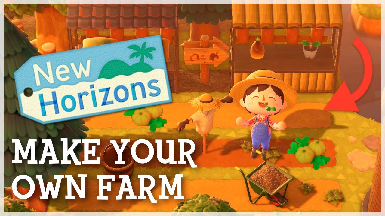 How to Design an AMAZING Farm in Animal Crossing New Horizons!