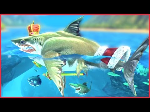 """MEGA MAX ROYAL MEGALODON"" - Hungry Shark World - WORLDS BIGGEST & BEST MEGALODON EVER"