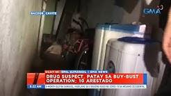UB: Drug suspect, patay sa buy-bust operation; 10 arestado