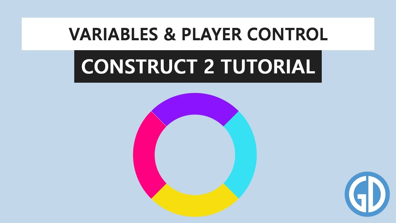 2. Color Switch - Variables & Player Control (Construct 2/3 Tutorial) #STAYHOME