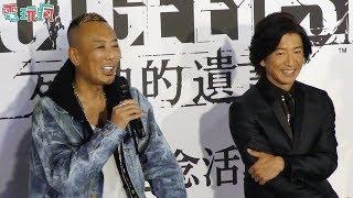 日本傑尼斯知名藝人木村拓哉,在12/2參與自己飾演主角的PS4 法庭劇動作...