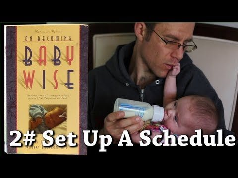 Scotty Becoming Babywise- #2 Setup Feeding Schedule