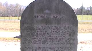 Bufords Massacre Battlefield Historic Site
