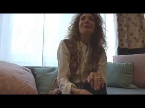 with Marisa Berenson about her skincare