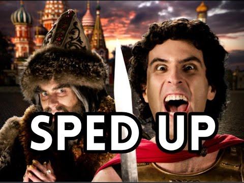 [Sped Up] Alexander The Great Vs. Ivan The Terrible. Epic Rap Battles of History. Season 5