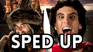 [Sped Up] Alexander The Great Vs. Ivan The Terrible. Epic Rap Battles of History. Season 5