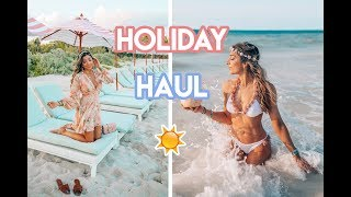 HOLIDAY HAUL & WHAT I BOUGHT IN APRIL!