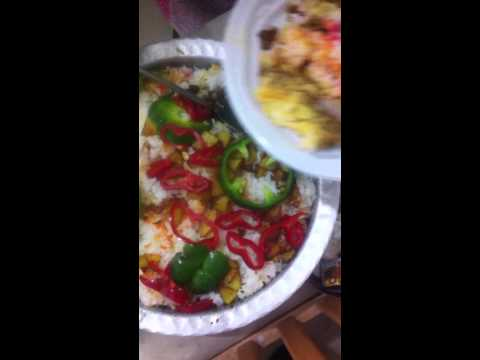 Biryani rice with chicken - ביריאני - Biryani