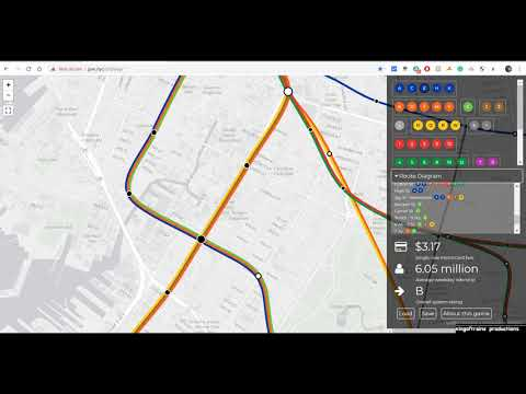 Dream NYCTA Subway Map (Barring Costs & Politics)