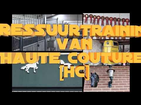 2017 IRIS - Dressuurtraining van Paard: HAUTE COUTURE [HC]