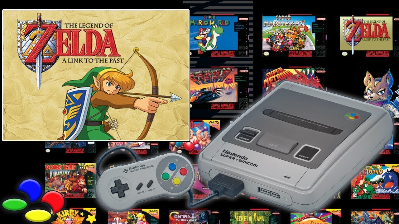 the legend of zelda a link to the past snes mini first look