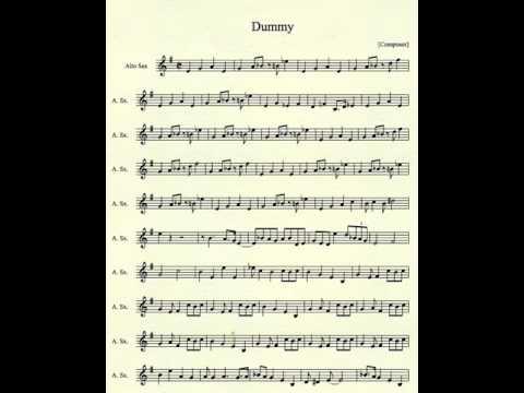 Undertale Dummy for Alto Sax