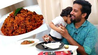 അനൗഷ് എന്നെ റിവ്യൂ പറയാൻ കളിപ്പിച്ച ബീഫ് വെറൈറ്റി  റോസ്റ്റ് | beef variety roast | video: 98