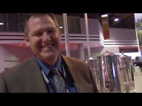 Ken VanHorn from Mimaki USA at SGIA Expo 2105