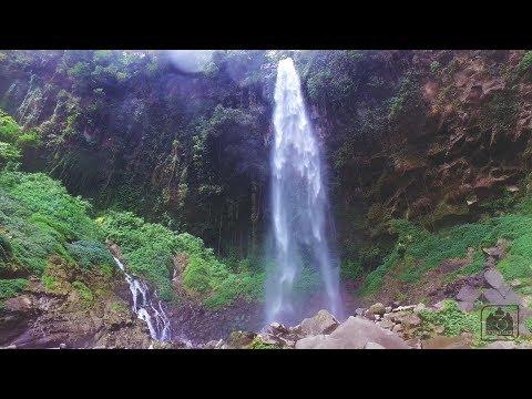indonesia-aerial-at-waterfall-drojogan-sewu-tawangmangu-sarangan-magetan