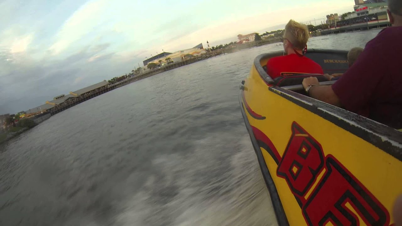 Jet Boat Ride At Myrtle Beach Rider Boats Broadway The
