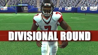 TWO GAMES AWAY - MADDEN 2007 FALCONS FRANCHISE VS GIANTS S1 DIVISIONAL ROUND