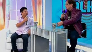 Joey de Leon, Willie Revillame, may one-on-one interview sa pilot episode ng CelebriTV