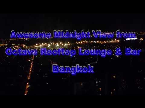 OCTAVE ROOFTOP LOUNGE \u0026 BAR - BANGKOK THAILAND