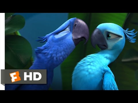 Rio (2/5) Movie CLIP - Not Exactly Lovebirds (2011) HD