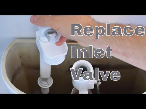 Toilet Inlet / Fill Valve Replacement