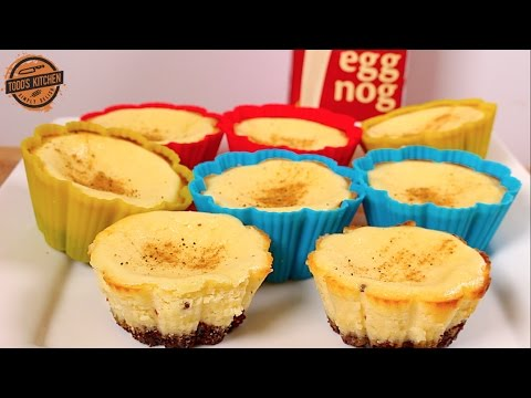 Eggnog-Cheesecakes-Cupcakes-Christmas-dessert-recipe